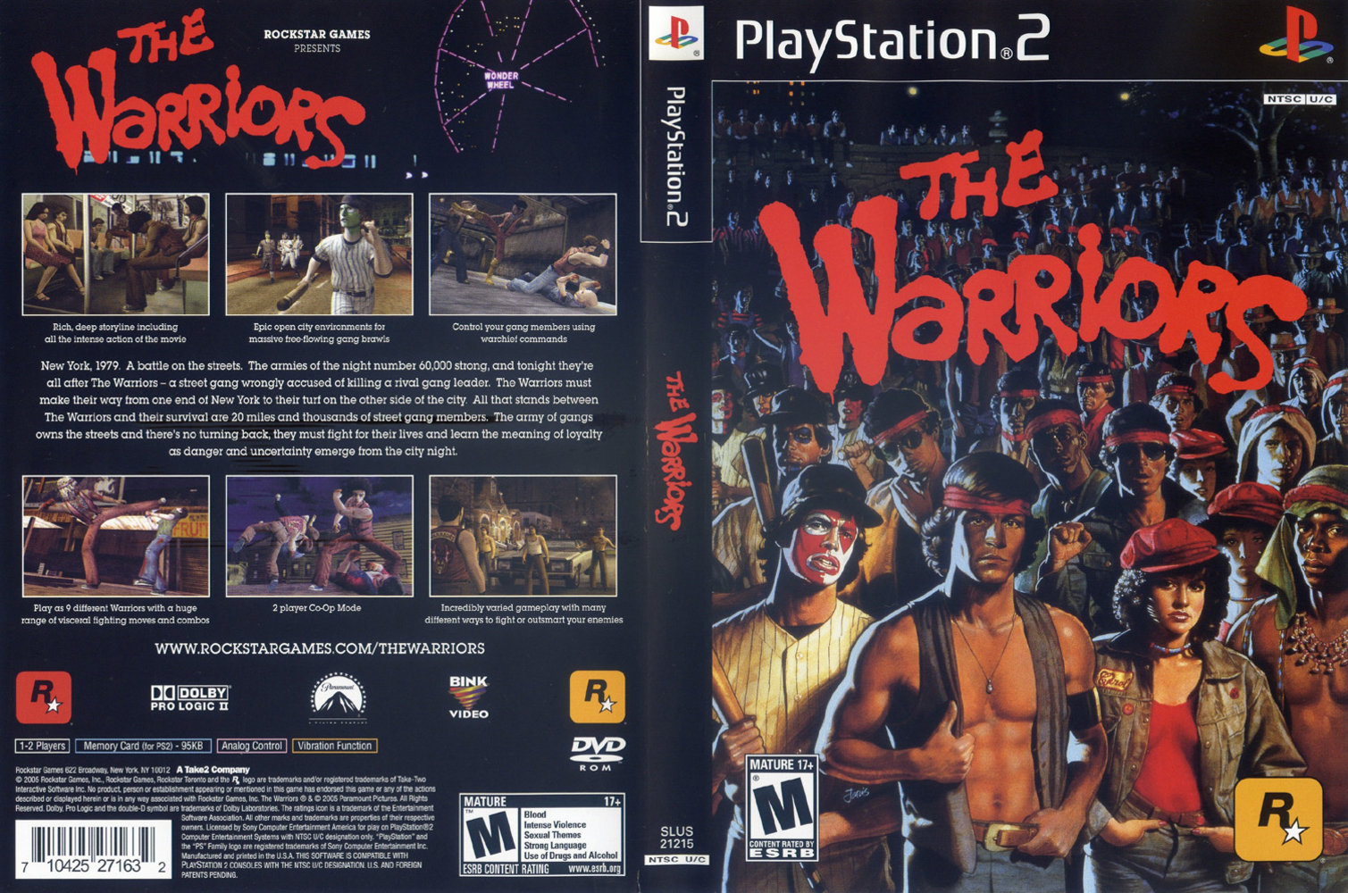 the warriors ps2 dvd pal iso full game free pc, download, play. the