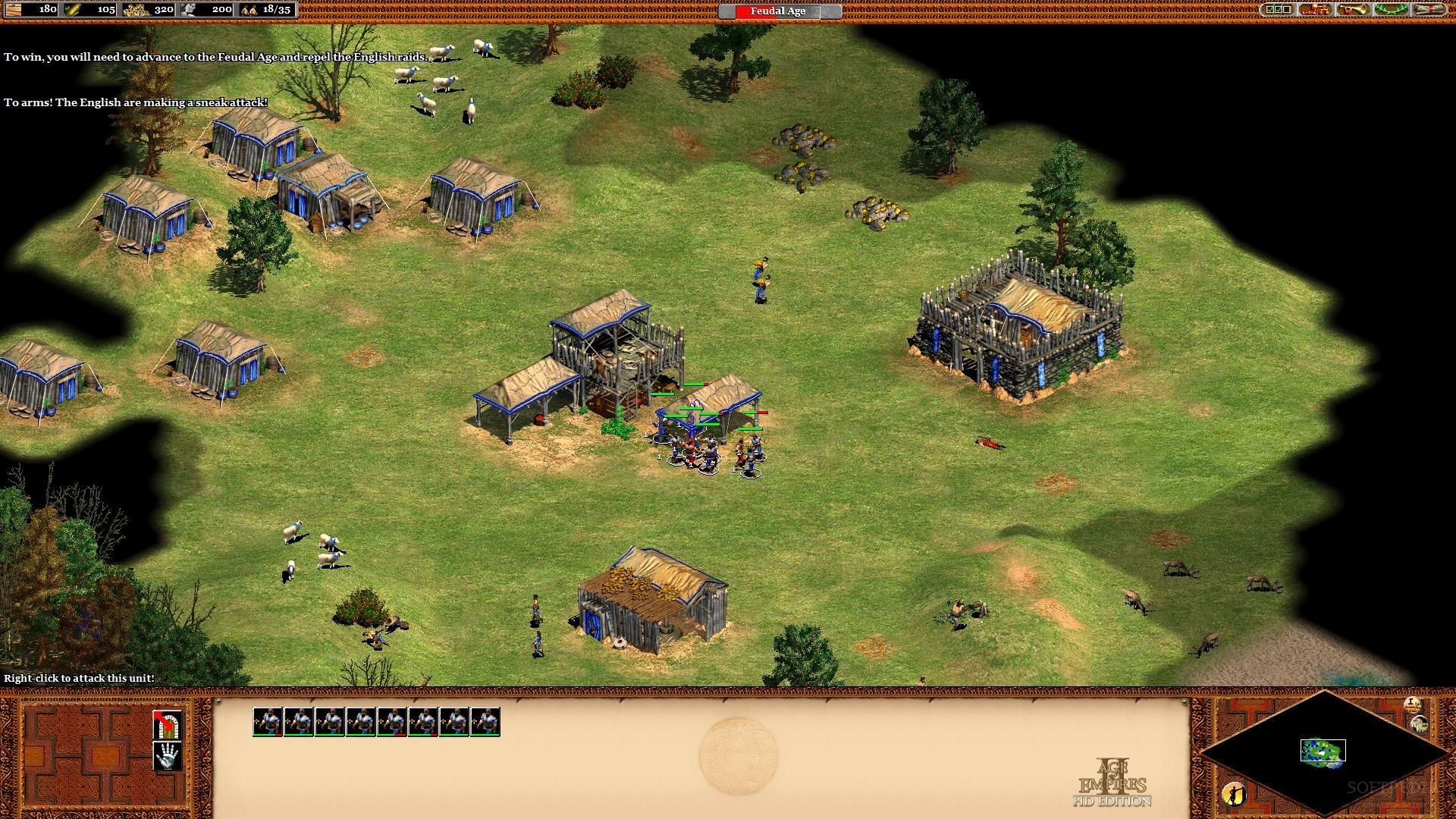 age of empires ii hd patch v2 7-reloaded full game free pc, download
