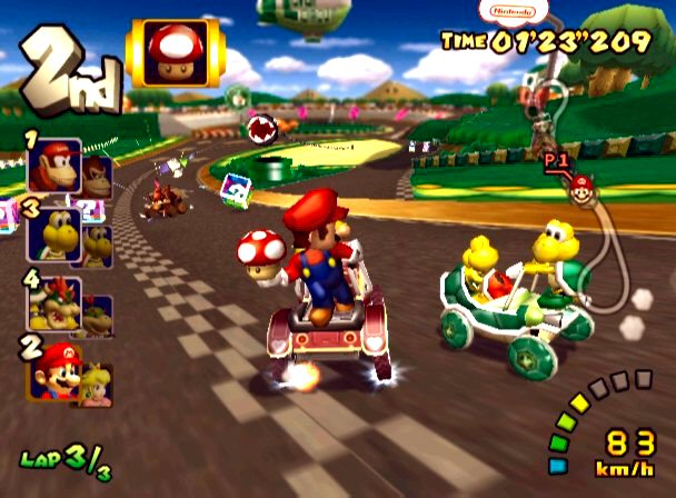 mario kart double dash iso full game free pc, download, play