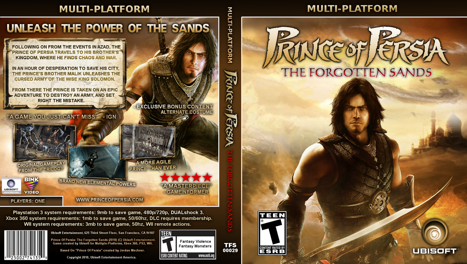 prince of persia forgotten sands pc torrent