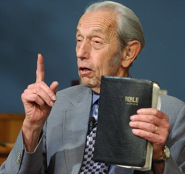 Harold Camping, 89, from Oakland, California, is certain that Saturday is Judgment Day