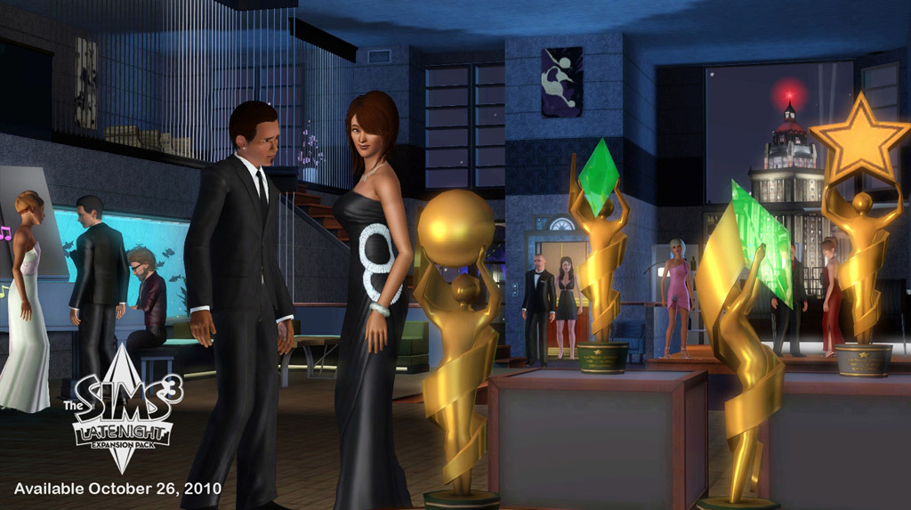 sims 3 late night free