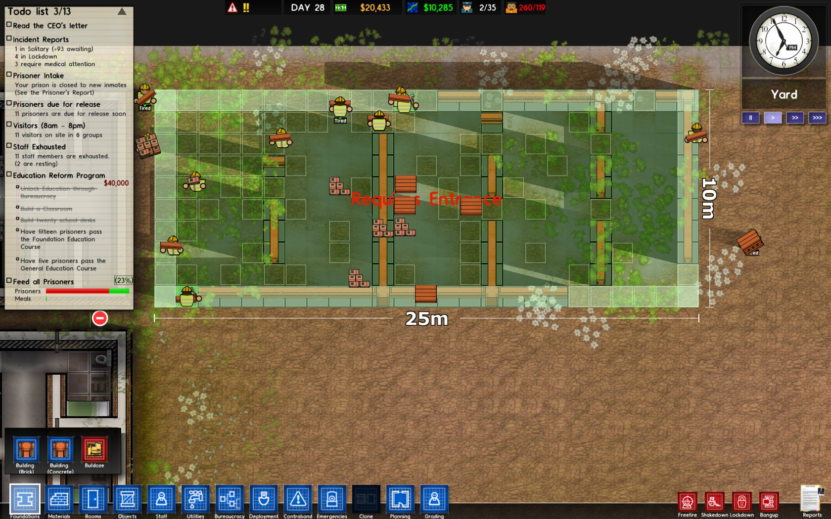 prison architect alpha 14 easy run full game free pc, download, play