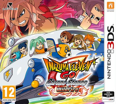 Inazuma Eleven Go Chrono Stones Wildfire Game Ios7 Ios8 Ios9 Ios10 Download