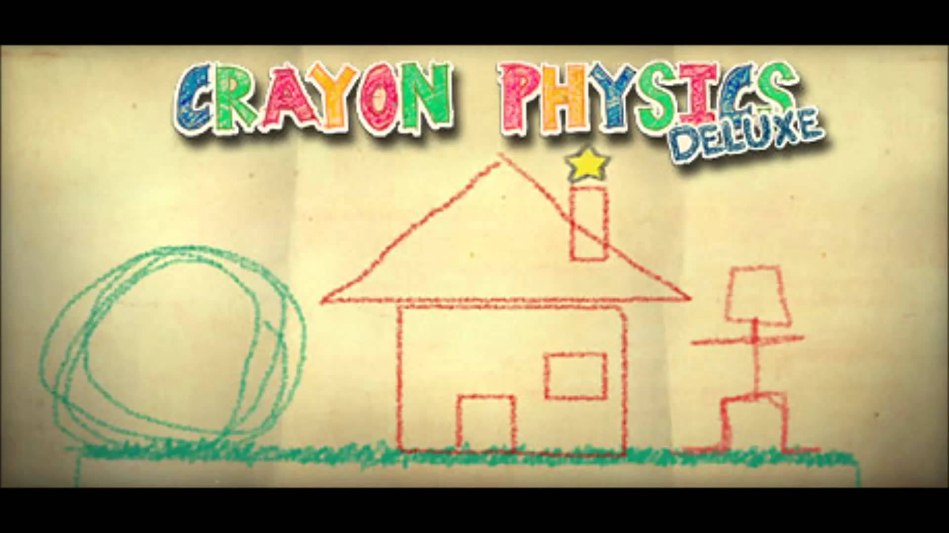 Crayon physics deluxe pc games gameplay golf youtube.