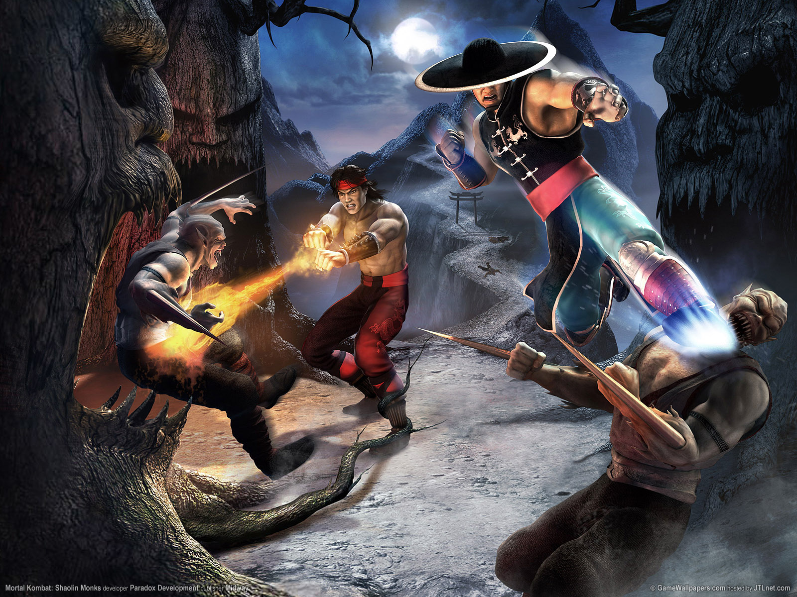 Mortal Kombat: Shaolin Monks full game free pc, download