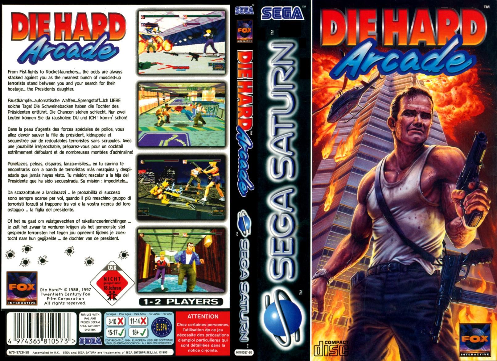 die hard arcade us sega saturn full game free pc, download