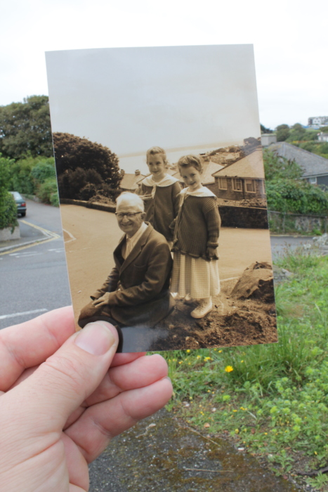 Dear Photograph,  I wish we could say goodbye to Grandad justone more time.  Love, Marsie and Josie
