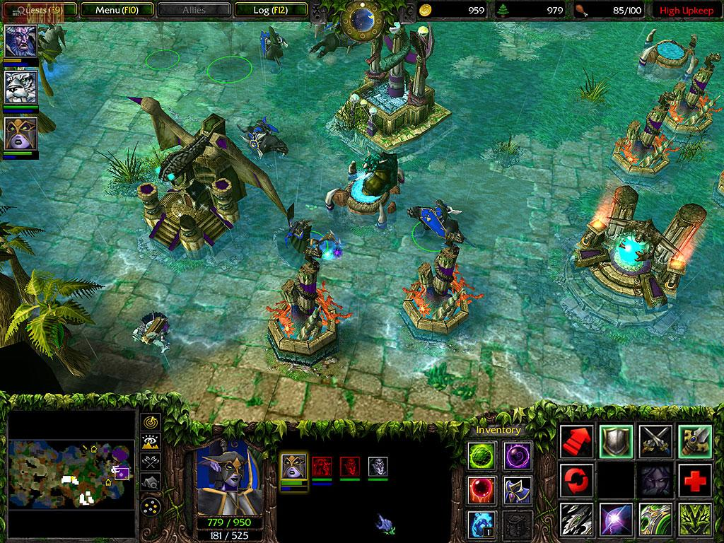 Warcraft iii frozen throne dota rar full game free pc, download.