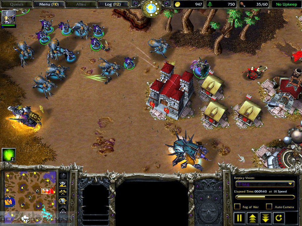 Warcraft 3 frozen throne exe download.