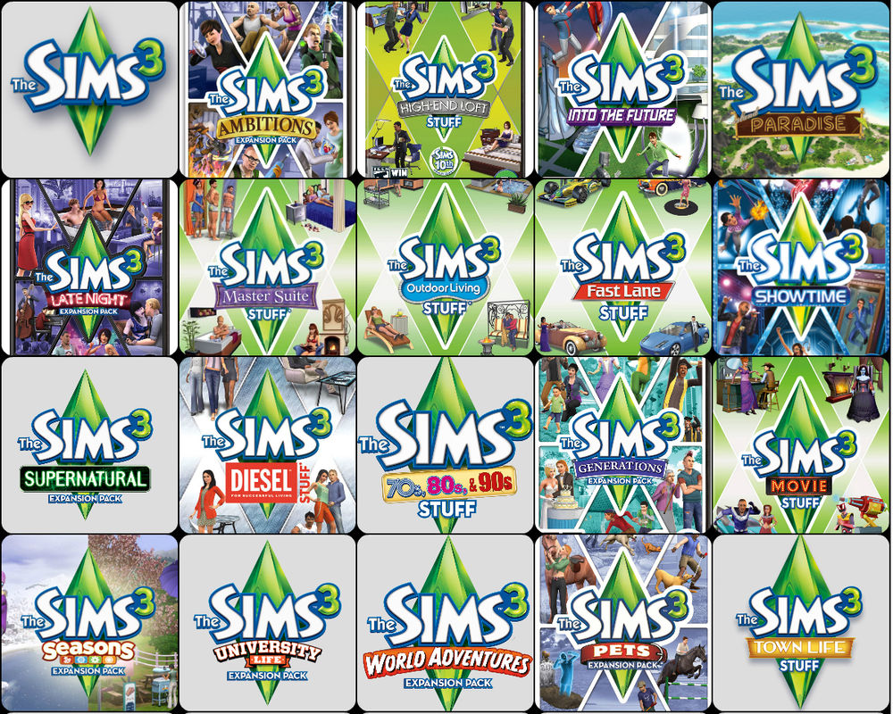 the sims 3 free download full version + all expansions