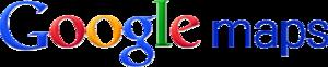 Wordmark of Google Maps
