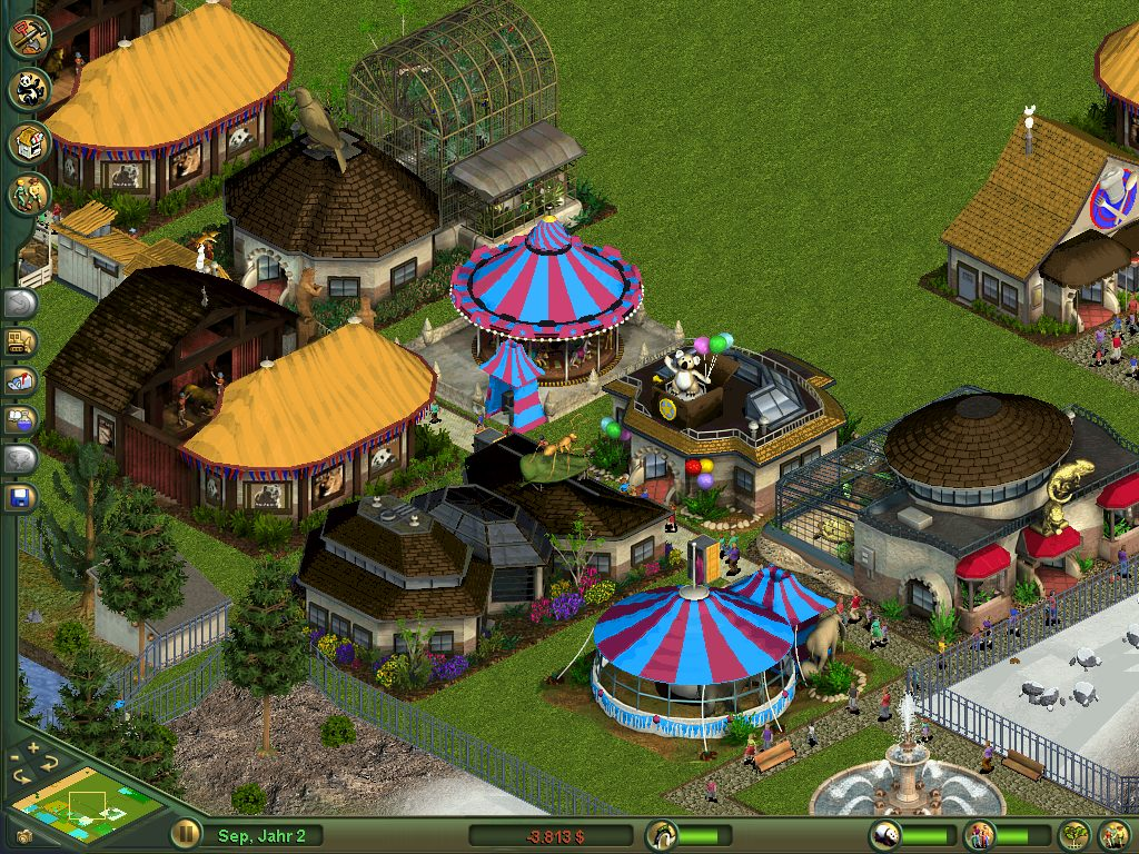 Zoo tycoon download (2001 simulation game).