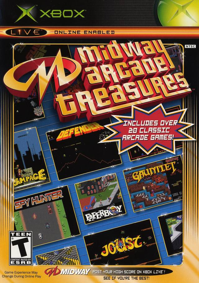 Midway Arcade Treasures full game free pc, download, play