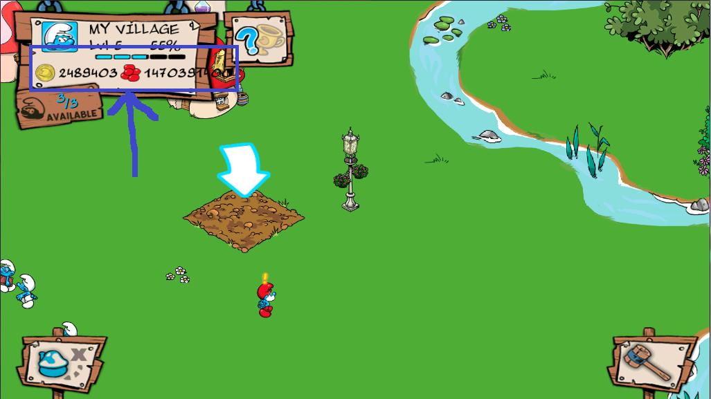 smurfs' village v1 3 0 apk obb mod android joker full game