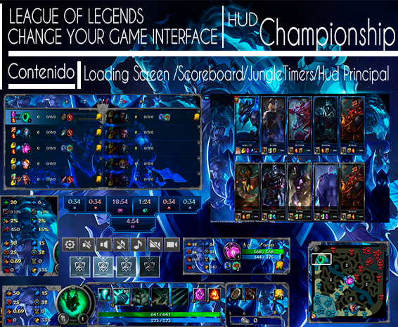 league of legends hud free download